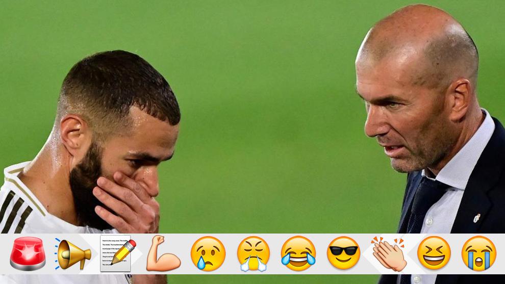 Benzema y Zidane