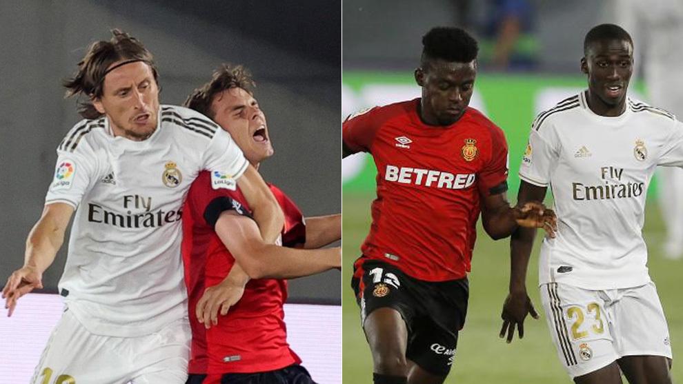 Modric y Mendy, contra el Mallorca