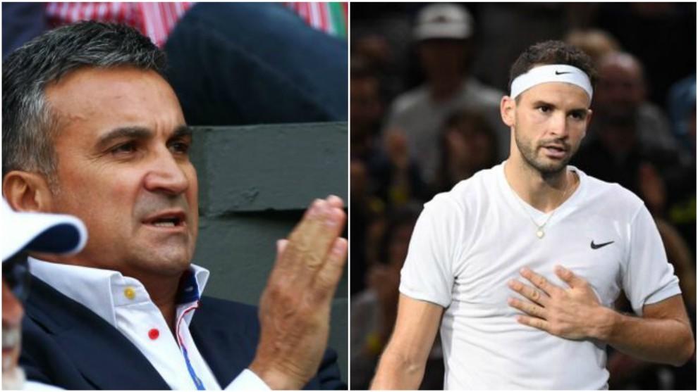 El padre de Djokovic y Dimitrov