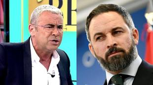 Jorge Javier Vázquez y su tenso enfrentamiento con Santiago Abascal
