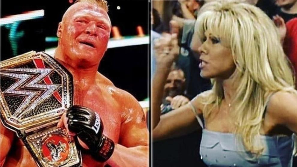 Brock Lesnar y Terri Runnels