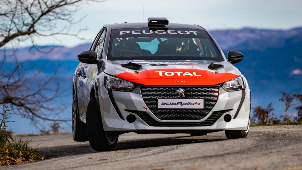 El nuevo Peugeot 208 Rally 4 protagonizará el campeonato que arranca...
