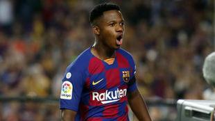 """El padre de Ansu: """"Mi hijo no puede ser titular en el Barça por ahora"""""""