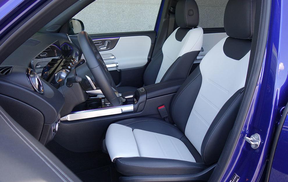 Los asientos delanteros pueden ser ventilados.