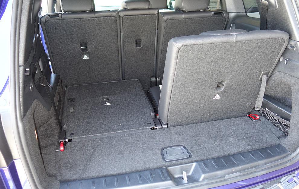 La capacidad del maletero depende de en qué posición esté la banqueta central.