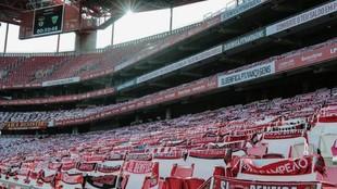 Estadio Da Luz, en Lisboa.