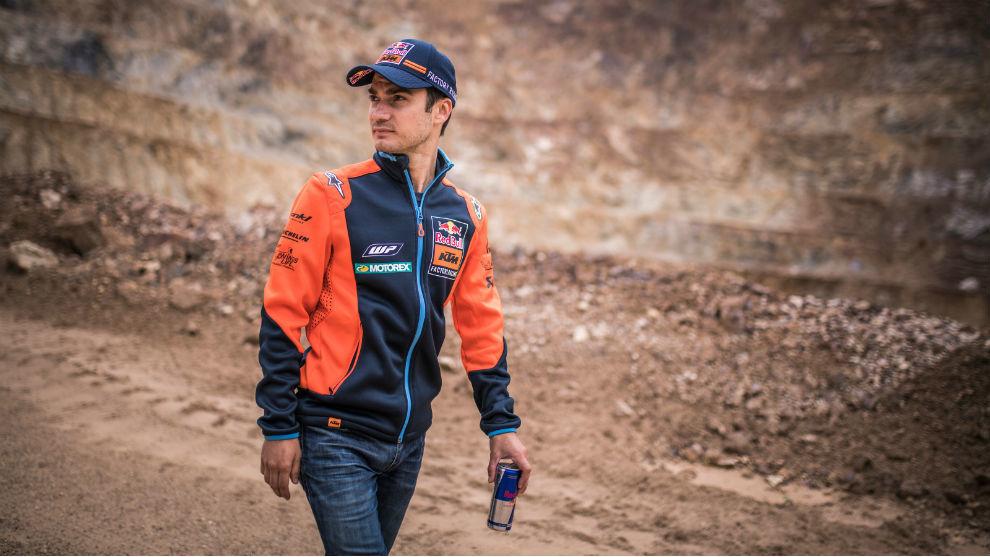 Dani Pedrosa, con KTM.