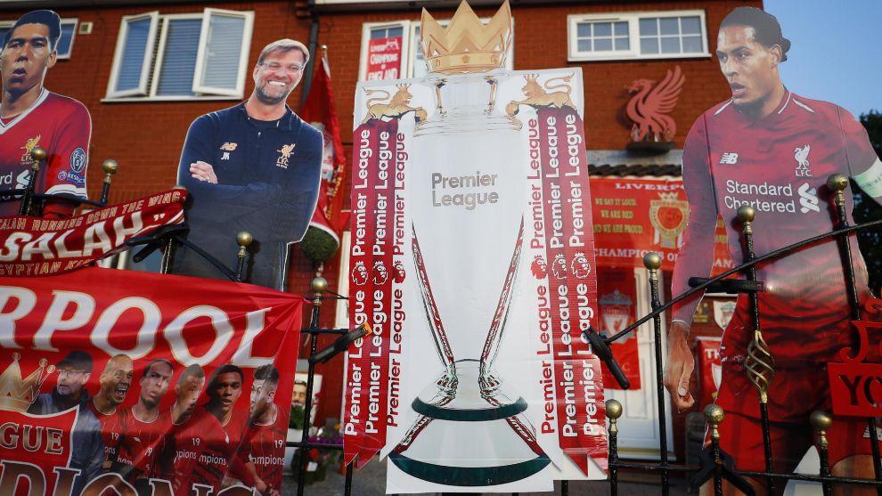 El Liverpool vuelve a ser campeón de Liga 30 años después