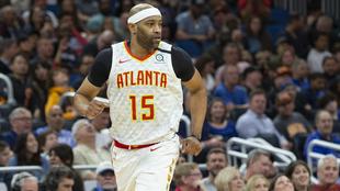 Carter jugó los últimos años con los Hawks