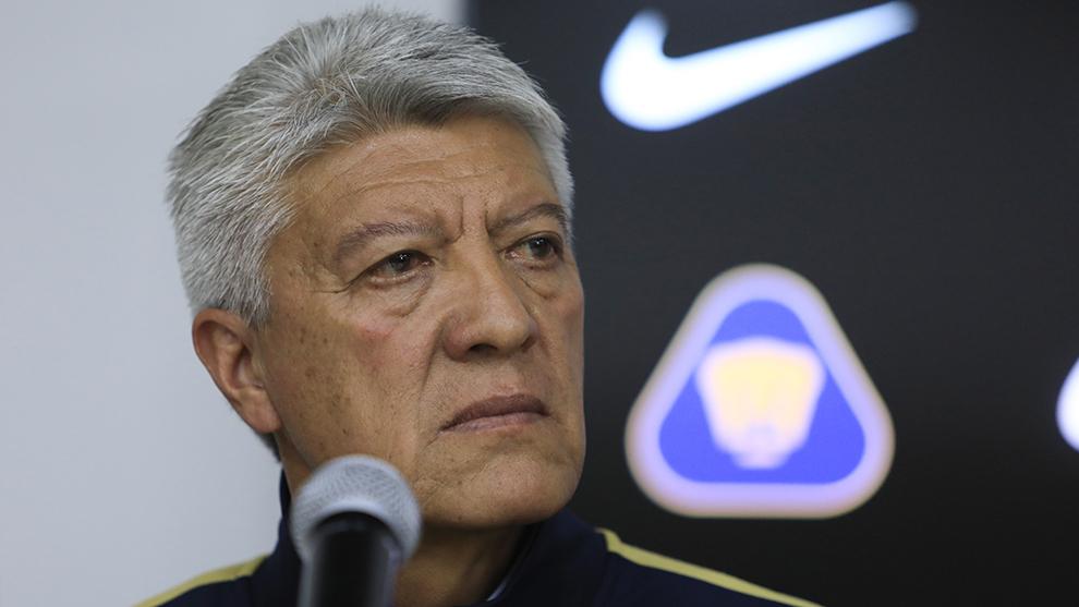 Jesús Ramírez en conferencia de prensa.