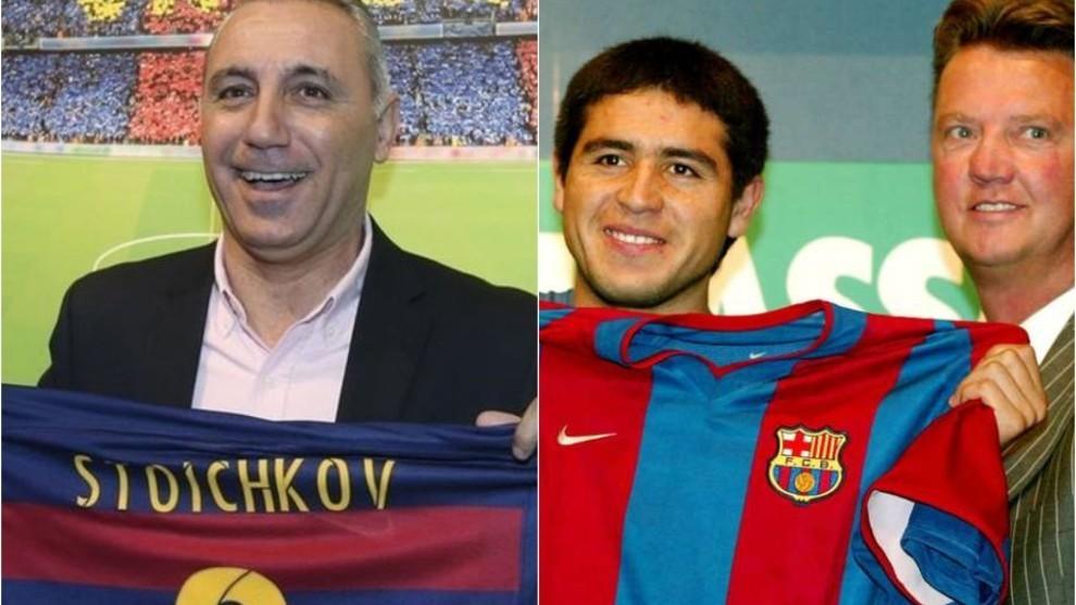 Stoichkov: Riquelme failed at Barcelona because of the imbecile Van Gaal