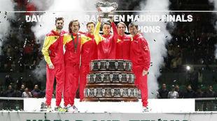 El quinteto española que ganó la última Copa Davis con el capitán...