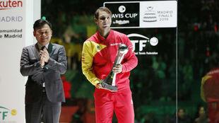 Nadal, el mejor jugador de la pasada edición en Madrid