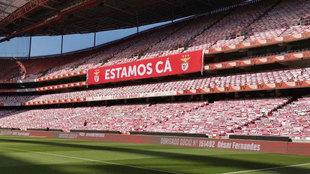 Estadio da Luz, una de las sedes de la fase final de la Champions.