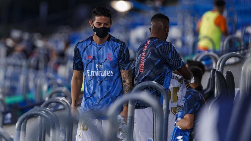 Zidane set for more changes: Will James get a chance?