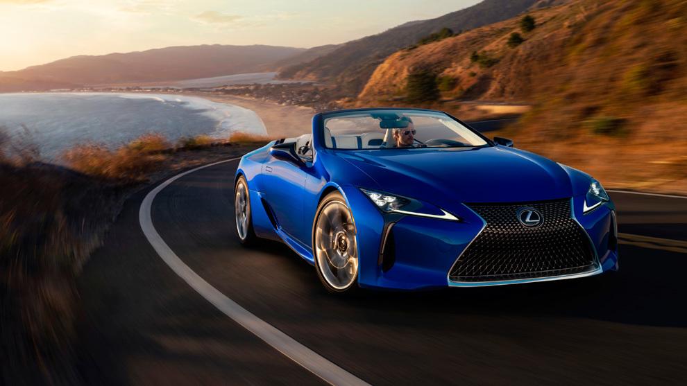 Lexus LC 500 Cabrio 2021: un lujo para los sentidos