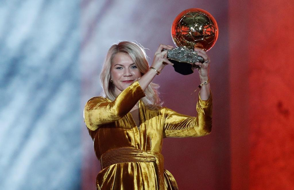 Ada Hegerberg fue premiada con el Balón de Oro en 2018.