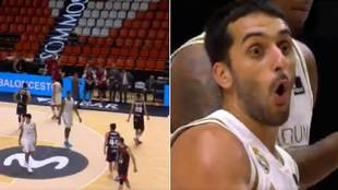 La curiosa última acción de la temporada del Real Madrid de baloncesto