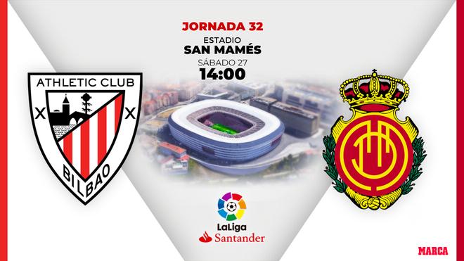 Athletic - Mallorca, en directo: a la espera de los onces