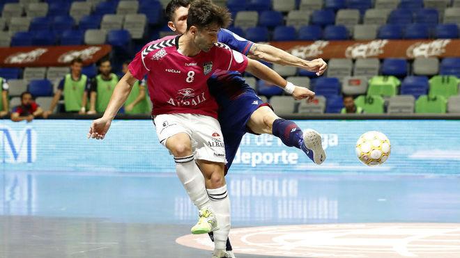 Levante - Viña Albali Valdepeñas: resumen y resultado de la semifinal de la LNFS 2020