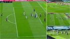 Messi se 'inventa' la falta 'alley oop': picadita y 'mate' de Luis Suárez