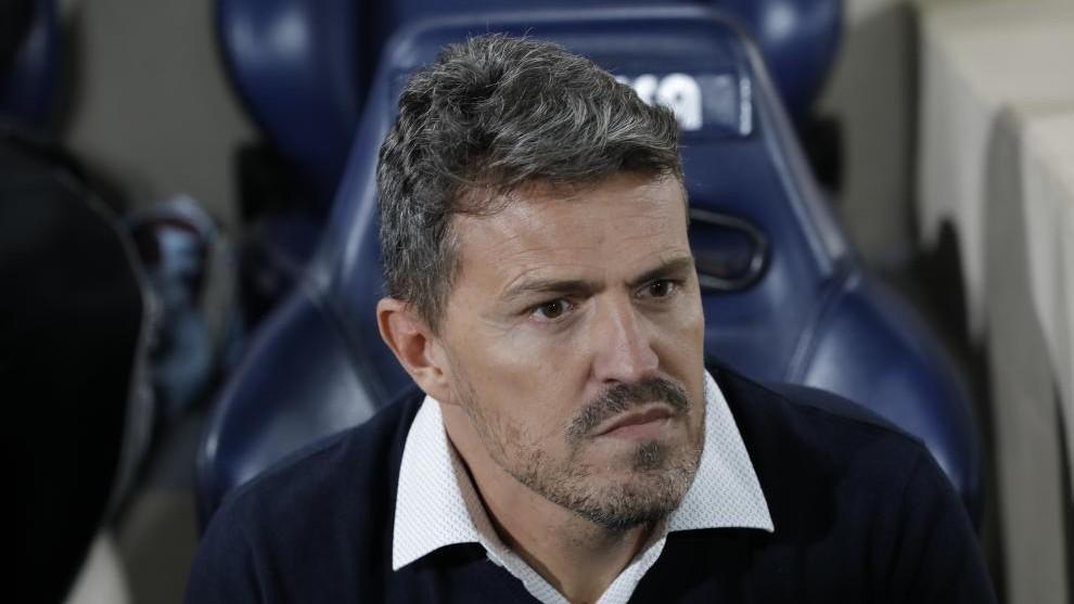 Óscar García, técnico del Celta