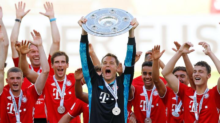 Neuer levanta el título de la Bundesliga