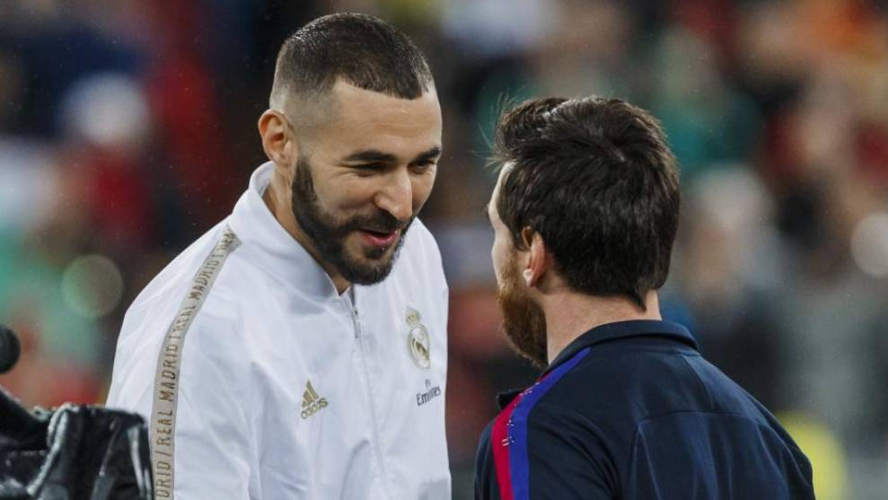 Benzema and Messi.