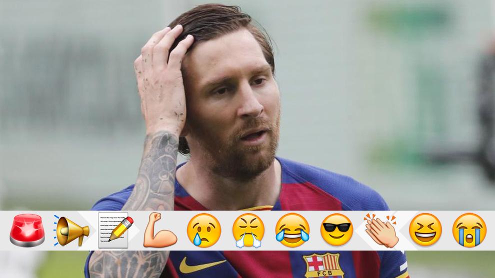 Messi, tras el pitido final