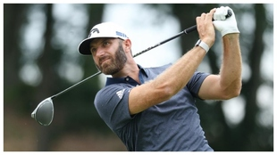 Dustin Johnson, en la tercera jornada del Travelers.