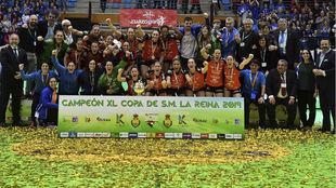El Bera Bera celebra la Copa de la Reina de 2019 /