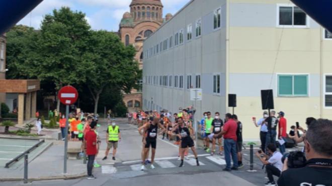 Josep Díaz y Nerea Costal ganan la primera prueba urbana post COVID-19