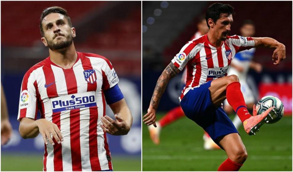 Koke and Savic suspended for Barcelona match