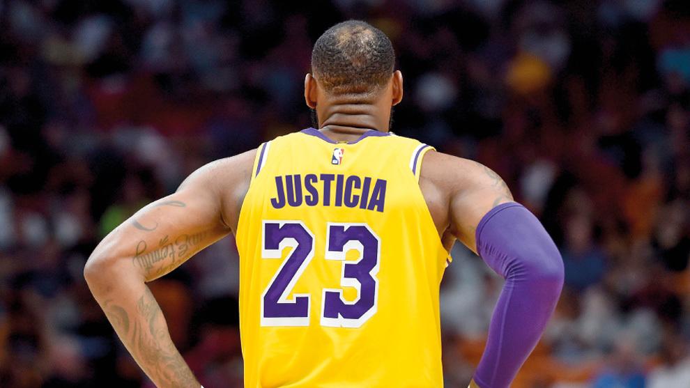 Los jugadores de la NBA se quitarán el  nombre de las camisetas para pedir justicia