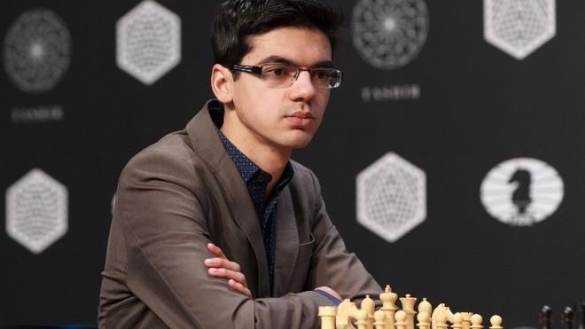 El jugador holandés Anish Giri.