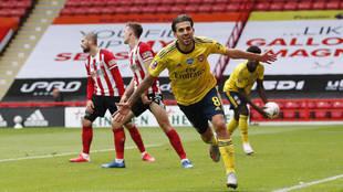 Un golazo de Ceballos mete al Arsenal en semifinales de la FA Cup