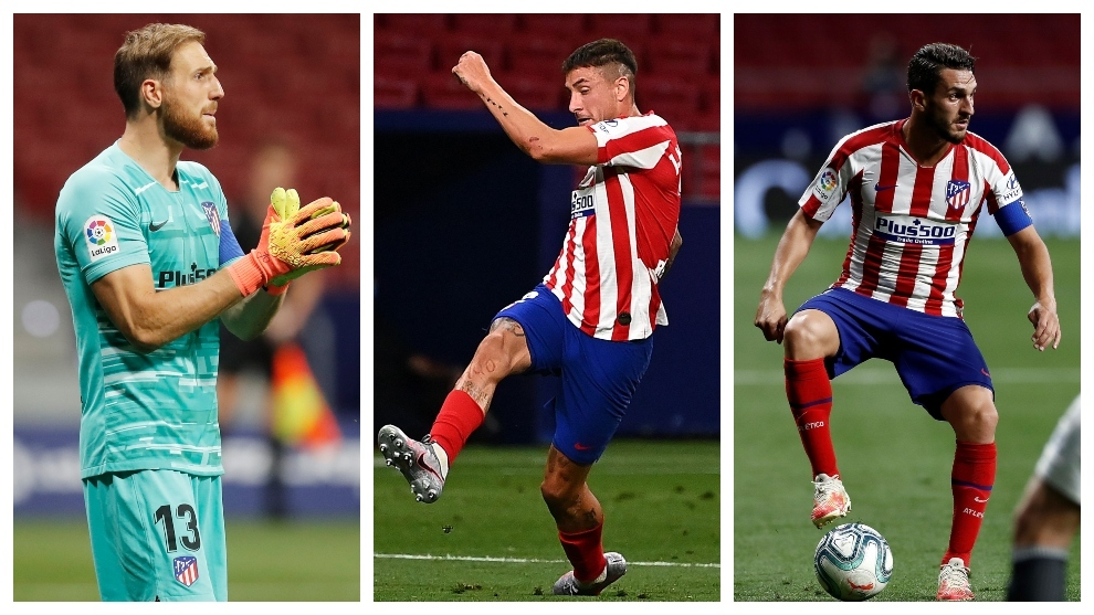 Atletico Madrid's captains carry the load