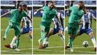 El francés fabricó el primer gol del Madrid con esta taconazo