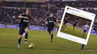 Guti con Benzema y su tuit