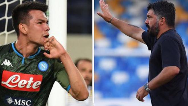 """Gattuso está asombrado con el Chucky Lozano: """"Tiene una velocidad de locura"""""""