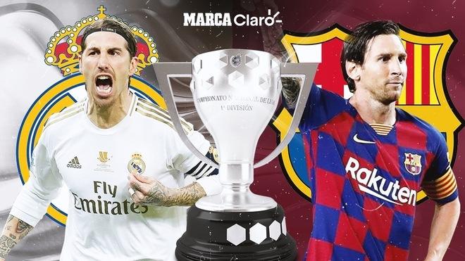 El calendario de Real Madrid y Barcelona hasta el final de LaLiga
