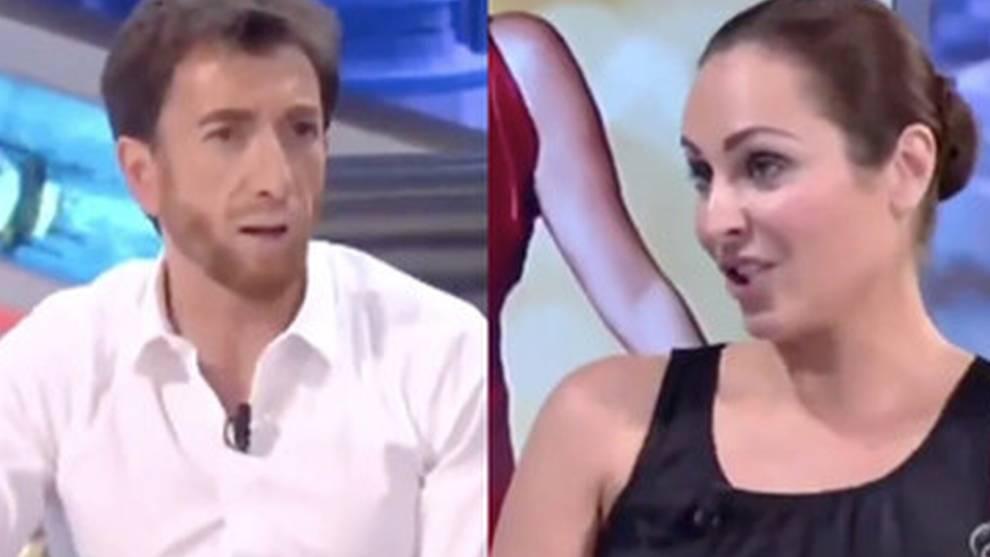 Pablo Motos y Ana Milán