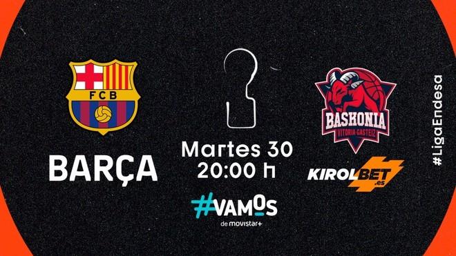 Barcelona y Baskonia jugarán la gran final de la Liga Endesa