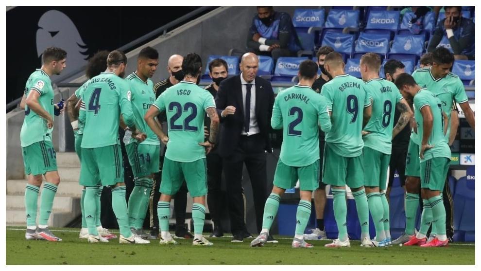 Zidane flips the script