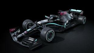 Mercedes tendrá de base el color negro en 2020 para apoyar la lucha...