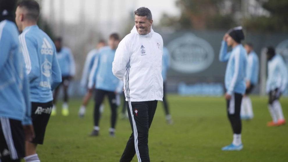 """Óscar García: """"Ganar al Mallorca sería dar un paso muy importante"""""""