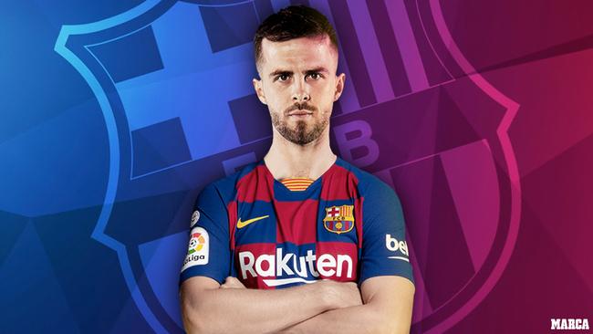 Oficial: el Barça ficha a Pjanic