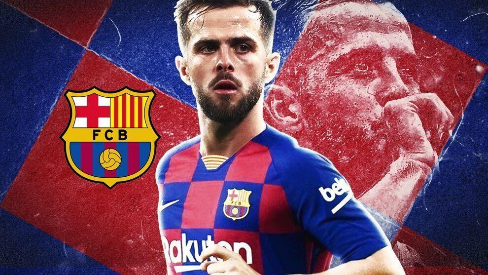 Llega Miralem Pjanic al Barcelona tras la salida de Arthur.