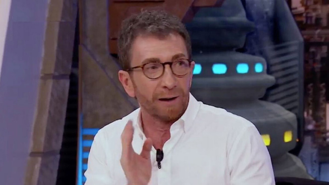 Pablo Motos, presentador de El Hormiguero, durante el programa de este...