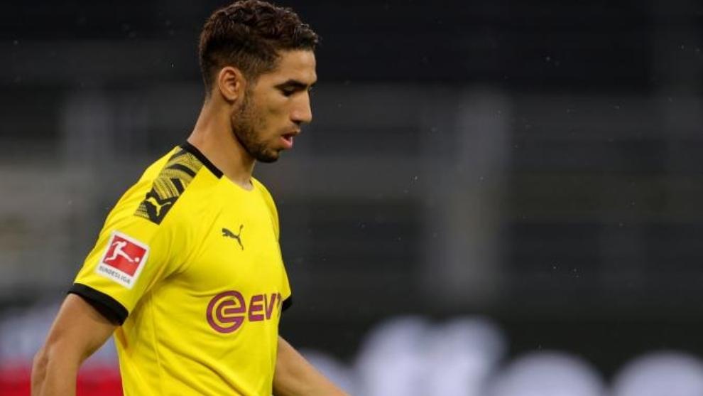 Achraf Hakimi transfer to Inter close